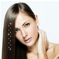 Haarextension für Haare - HAIR DIAMONDS Packung mit 6 Stück